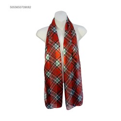 Scarf Scottish pattern