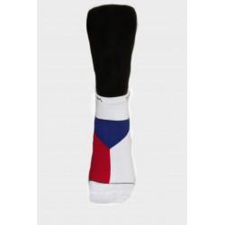 Pánské ponožky sportovní s ČR vlajkou