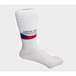 Dámské ponožky s ČR vlajkou