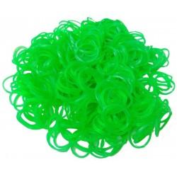 Loom bands 500ks neonové zelené