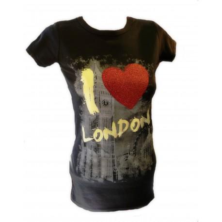 Triko dámské I LOVE LONDON