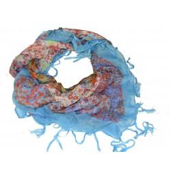 šátek květy