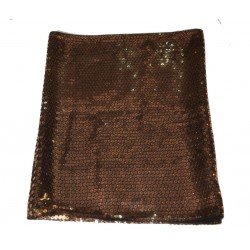 Tunnel scarf with sequins