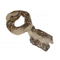 Scarf scarf snake pattern