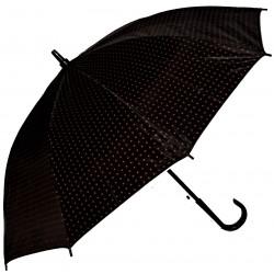 Vystřelovací deštník s puntíky
