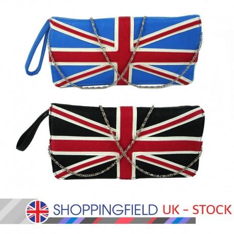 Retro taška černá London