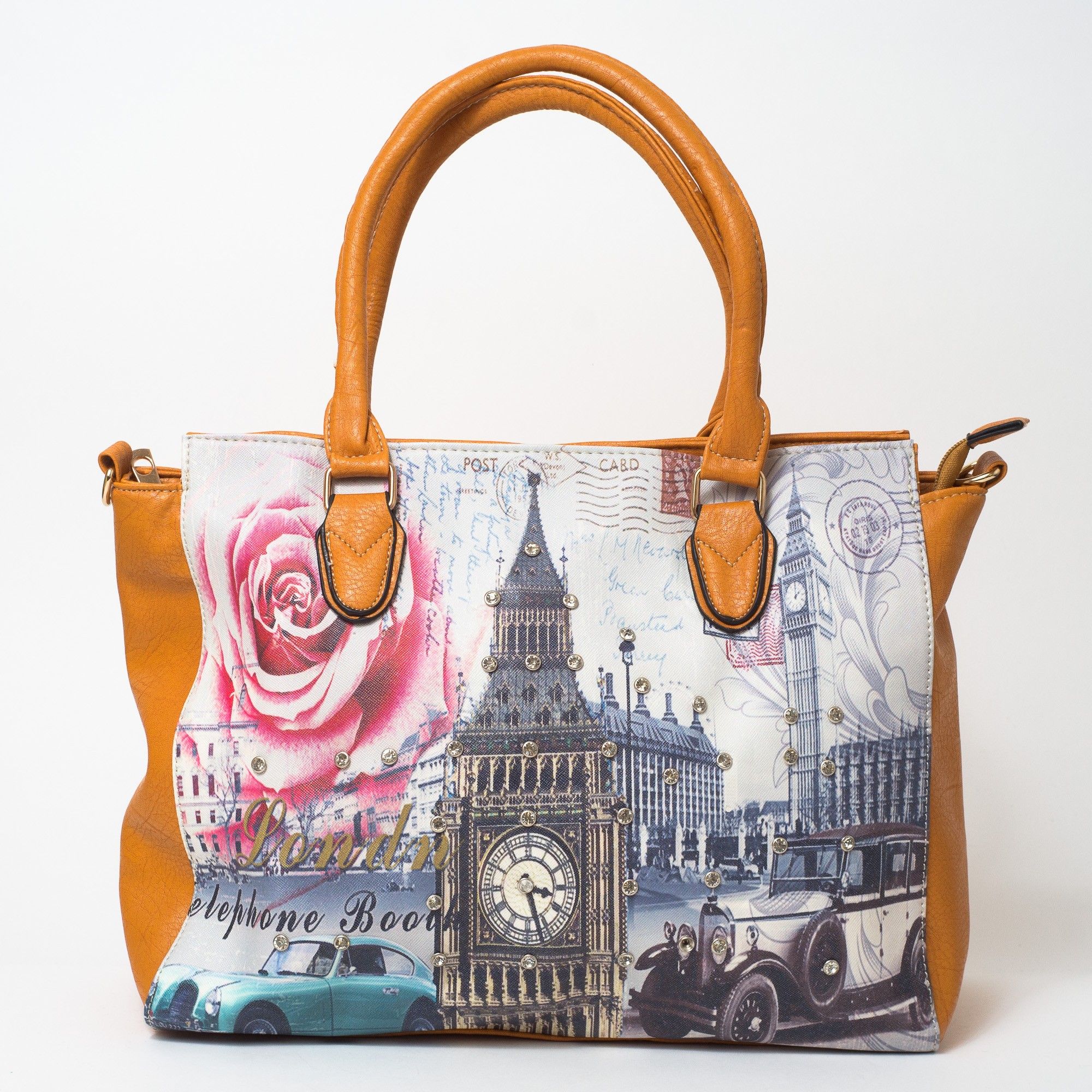 Kabelka Vintage London city - Moda-london.cz 587f8eeb276