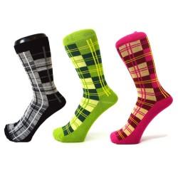 Ponožky skotský vzor