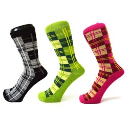 Socks Scottish pattern