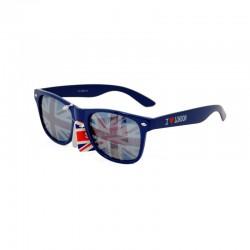 Brýle Union Jack fuksiové