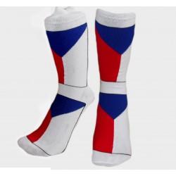 Ponožky s Českou vlajkou