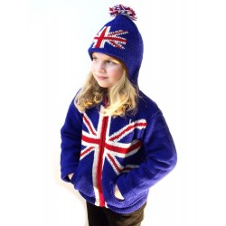 Dětská mikina 3D britská vlajka