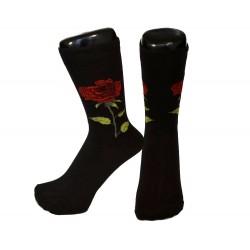 Ponožky s růží