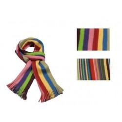 Oboustranná šála multicolor