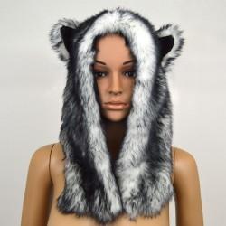 Čepice zvířecí 3D medvěd