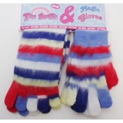 Prstové ponožky a rukavice