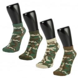 Camouflage Women's Trainer Socks 3 PACK