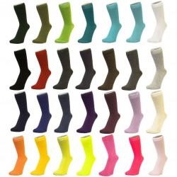 Ponožky jednobarevné