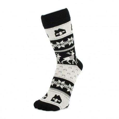 Norský vzor ponožek