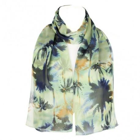 Šátek šifónový palmy