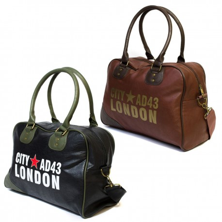 London City Vintage Design Shoulder Handbag