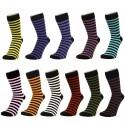 Ponožky proužkované