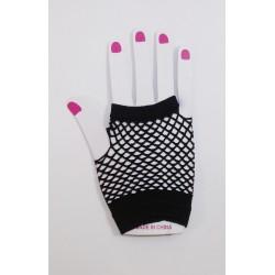 Dámské síťované rukavičky krátké