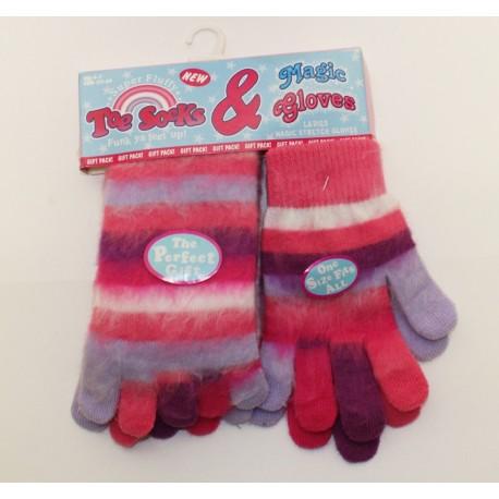 a6f145a4b89 Duhové prstové ponožky + rukavice