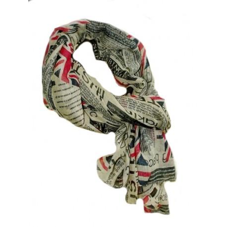 scarf newspaper