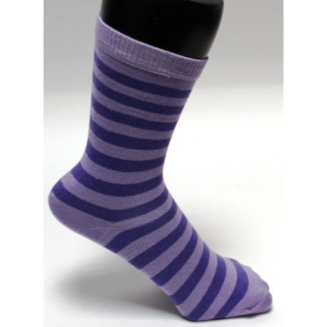 Ponožky  barevný proužek