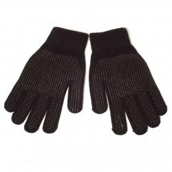 Rękawiczki z dzianiną (czarny)