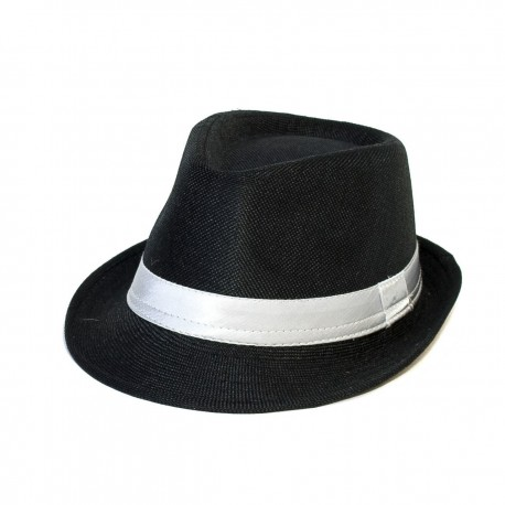 STYLISH TRILBY HAT WITH SATIN BAND