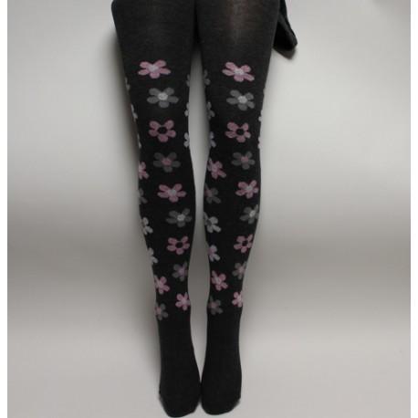 Zimní bavlněné punčochové kalhoty