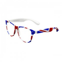 Brýle Union Jack čiré