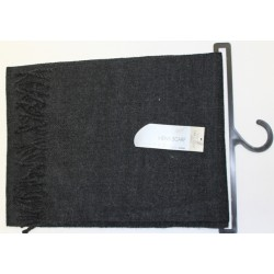 Stylish men's scarf black