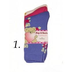 Dámské thermo froté ponožky 3 KS