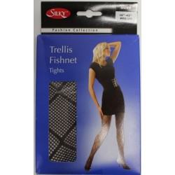Trellis Fishnet Tights