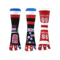 Prstové ponožky UK